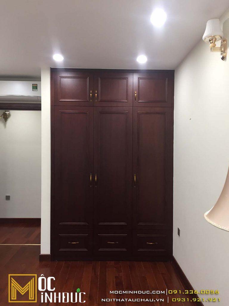 Đơn vị thi công nội thất chung cư Mandarin