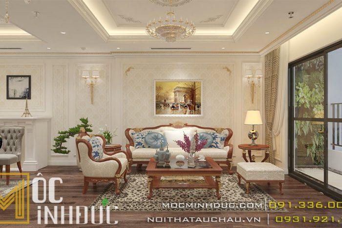 Thiết kế nội thất chung cư golden palm