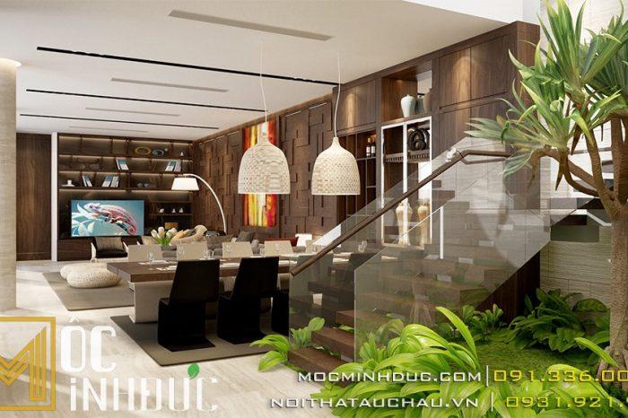 Thiết kế thi công nội thất biệt thự đà nẵng