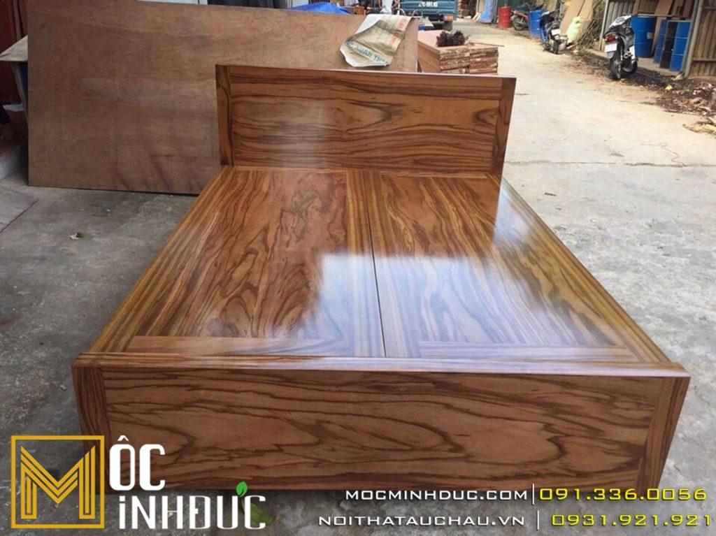 Giường gỗ hương đẹp