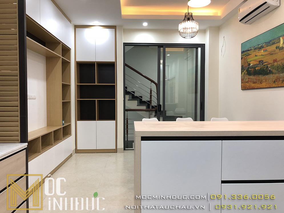 Hoàn thiện nội thất nhà phố đẹp Hà Nội