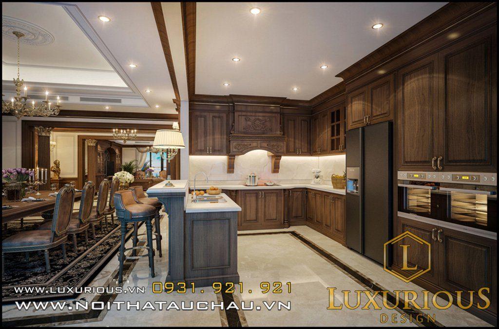Mẫu nội thất phòng bếp đẹp