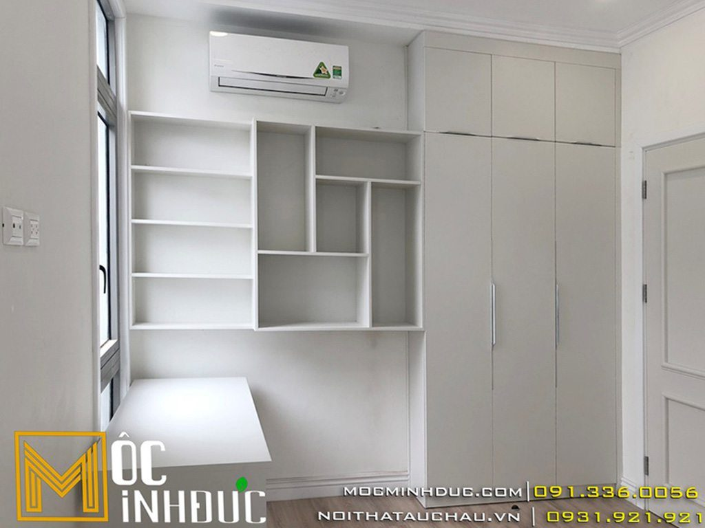 Mẫu tủ gỗ công nghiệp chung cư