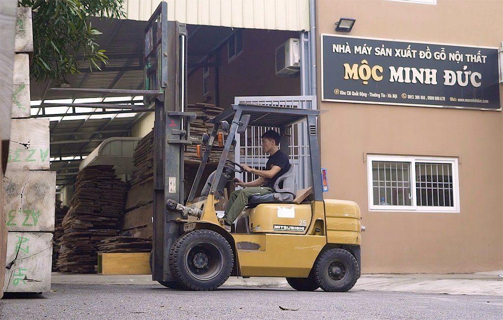Nhà máy sản xuất đồ gỗ nội thất Mộc Minh Đức