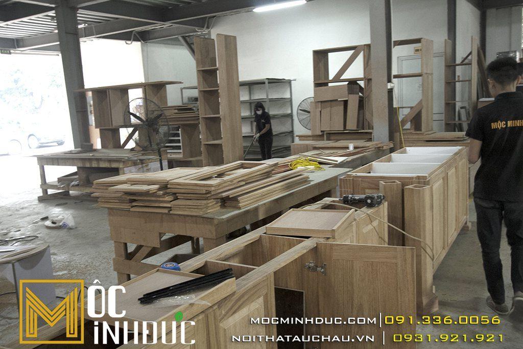 Vật liệu gỗ trong thiết kế nội thất