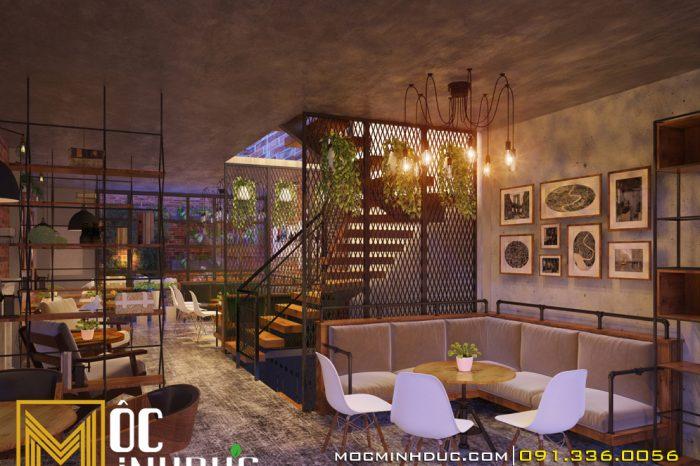 thiết kế nội thất quán cafe văn phú
