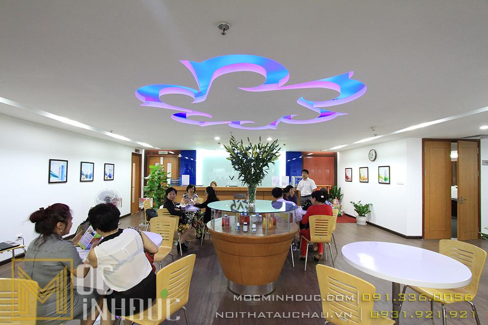 Đơn vị thi công nội thất văn phòng đẹp Hà Nội