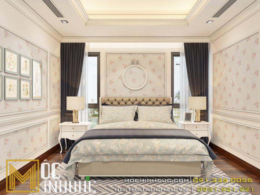 Thiết kế nội thất biệt thự phòng ngủThiết kế nội thất biệt thự phòng ngủ