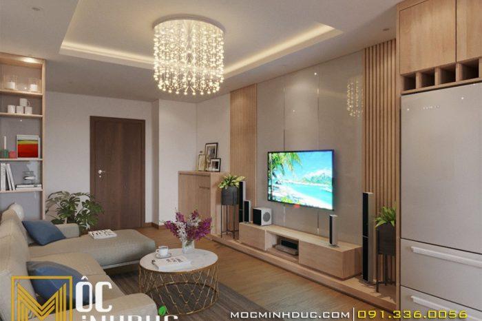 Thiết kế nội thất chung cư Hateco