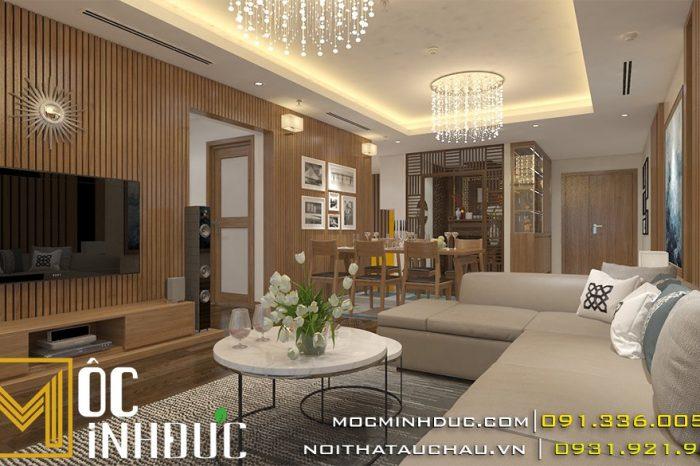 Thiết kế nội thất chung cư Mandarin Tân Mai
