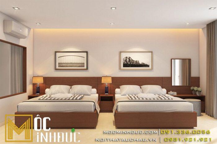 thiết kế nội thất khách sạn hacom