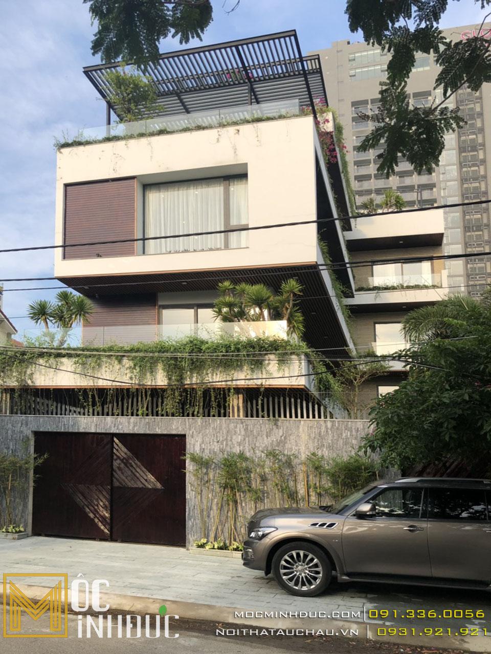 Mặt tiền biệt thự nhà phố đà nẵng