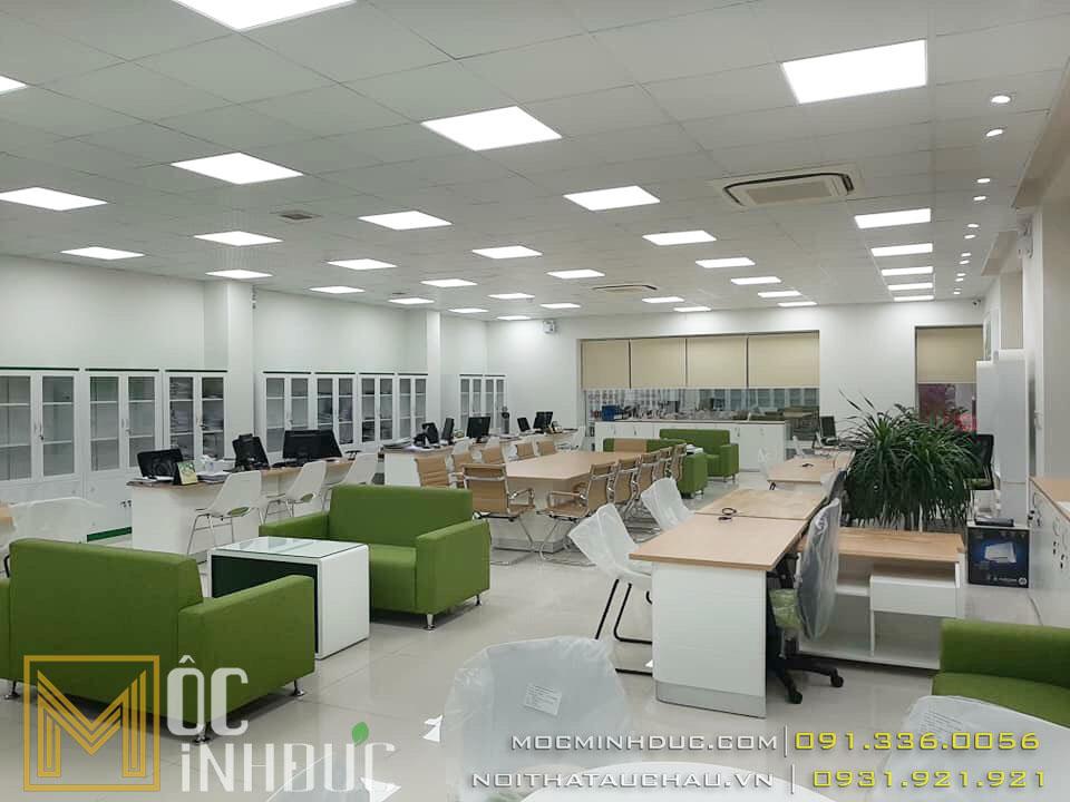 Hoàn thiện văn phòng ngân hàng Vietcombank