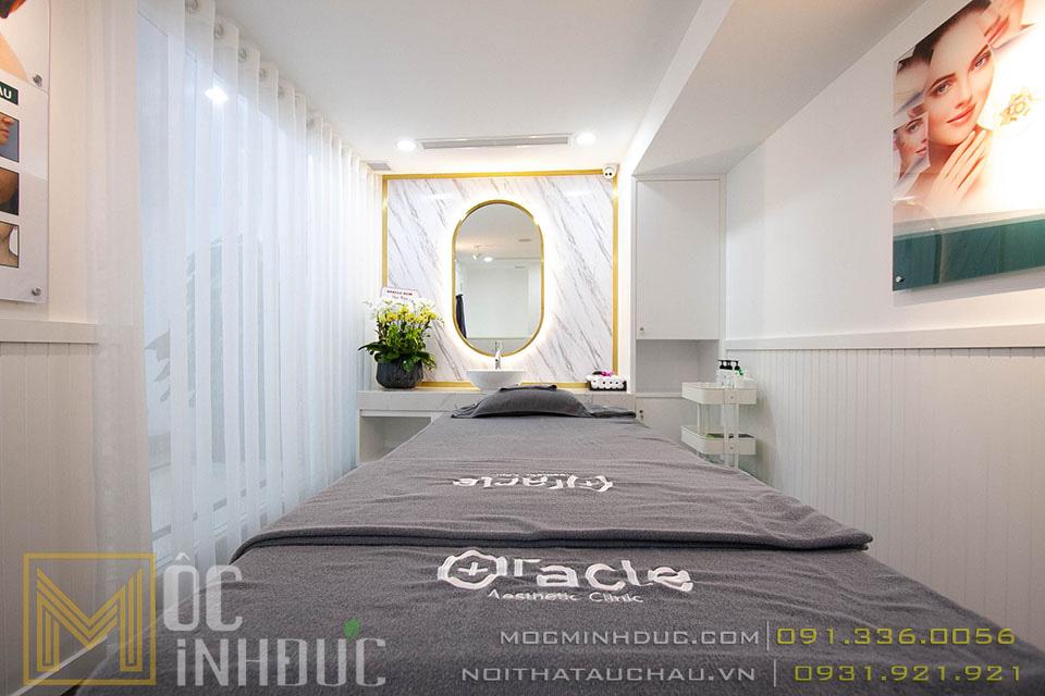 Giường spa thẩm mỹ viện