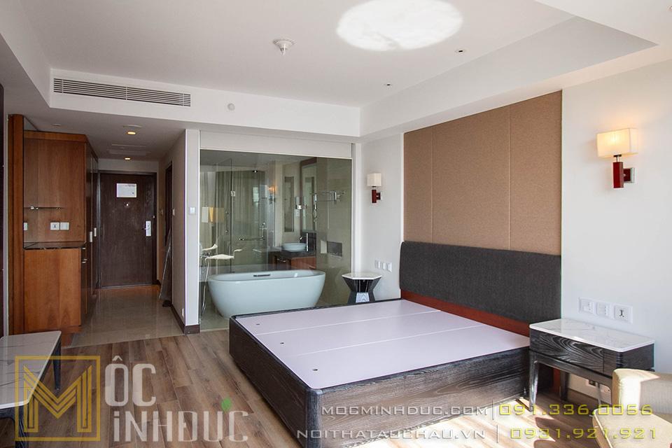 Hoàn thiện nội thất phòng khách sạn 5 sao crowne