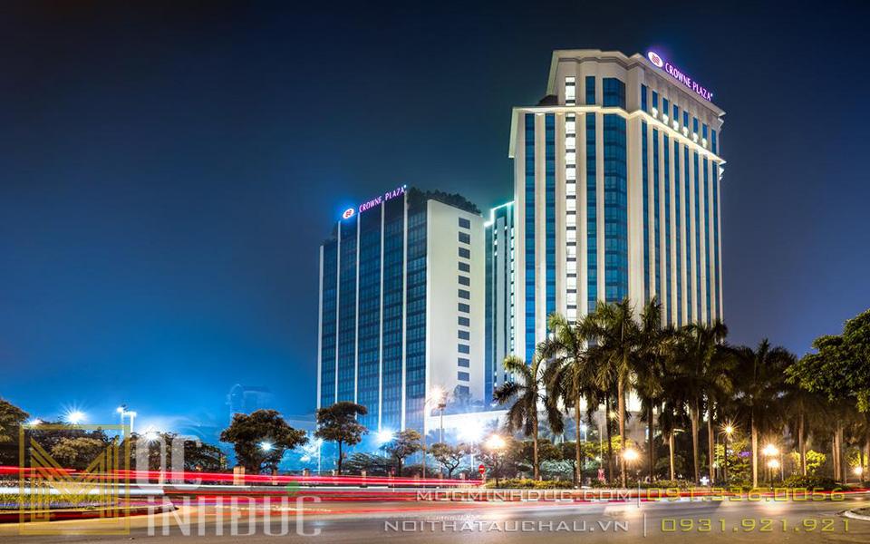 Mặt tiền khách sạn Crowne Plaza West Hà Nội