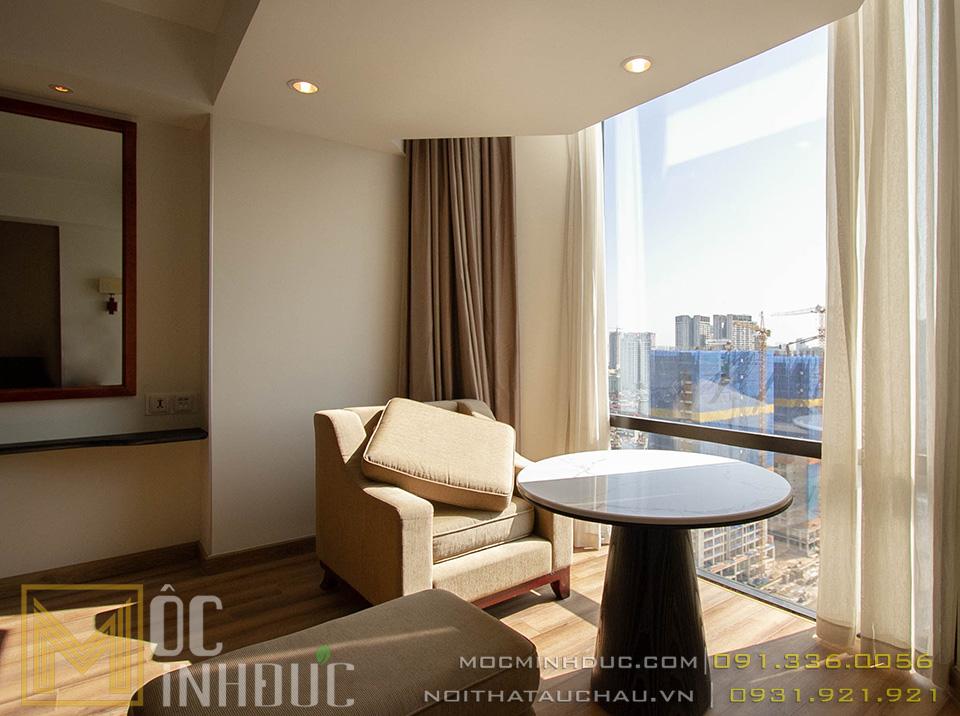 Nội thất khách sạn 5 sao crowne plaza