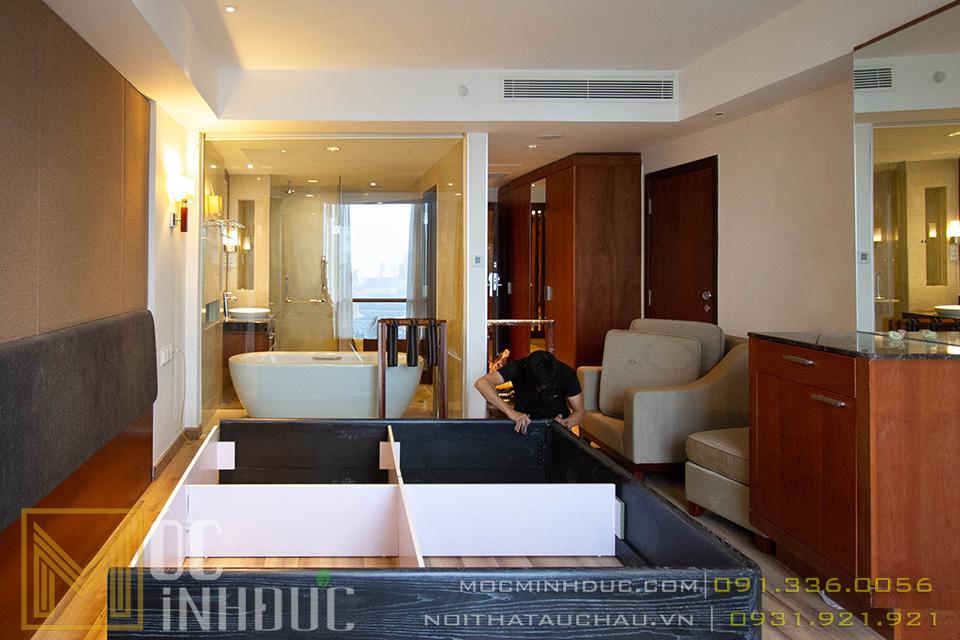Thi công nội thất khách sạn 5 sao Crowne