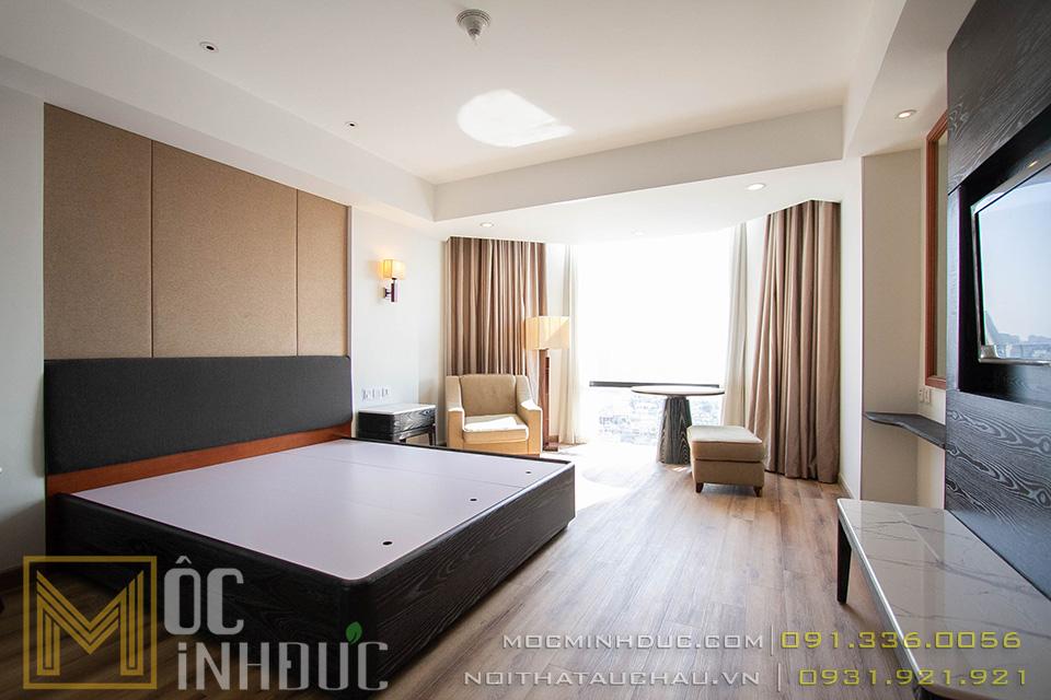 Thi công phòng ngủ khách sạn plaza