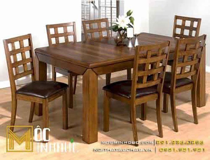 Xưởng bàn ghế gỗ phong cách mộc cho nhà hàng
