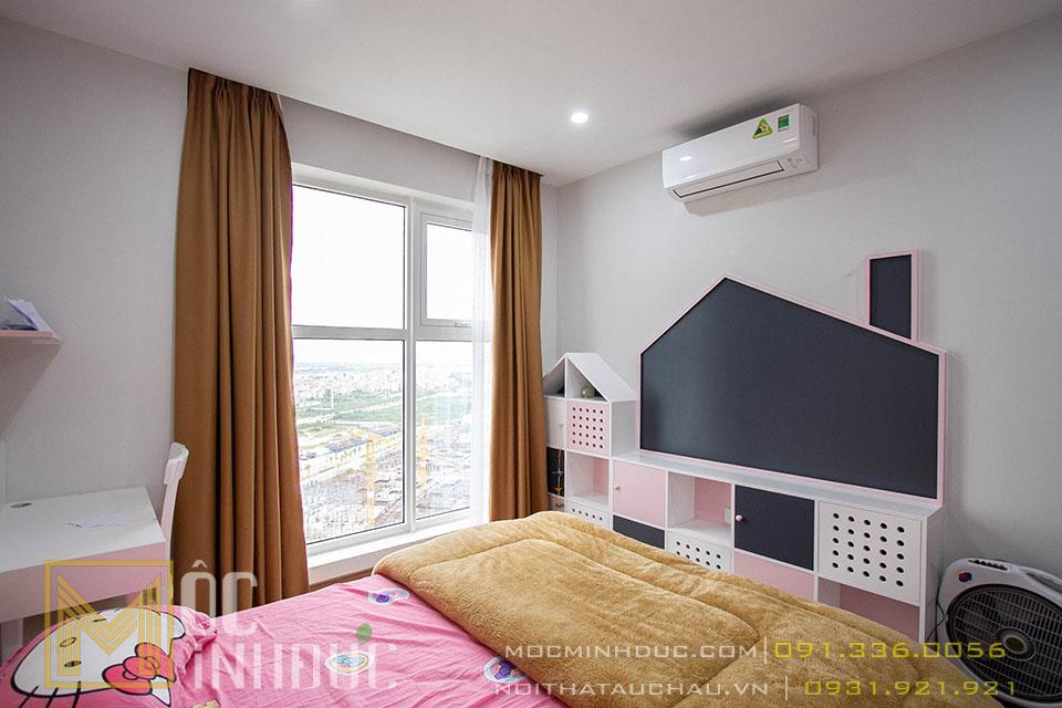 Hoàn thiện phòng ngủ con gái chung cư