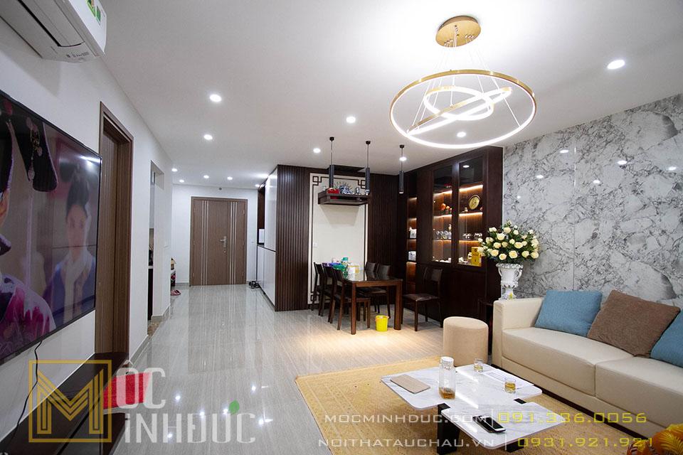 Mẫu phòng khách chung cư Ciputra hiện đại