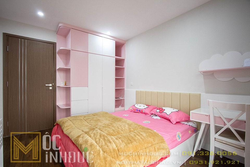 Mẫu phòng ngủ cho con gái