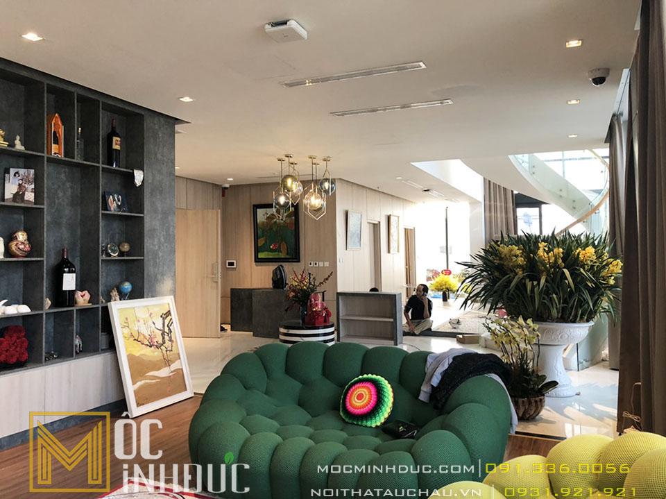 Phòng khách căn hộ metropolis hà nội