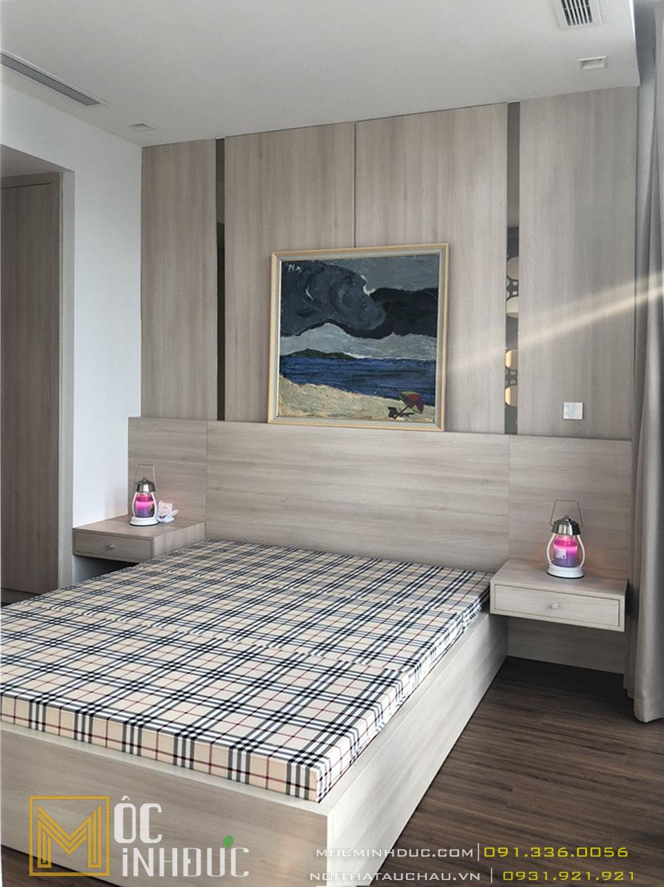 Thi công nội thất phòng ngủ metropolis