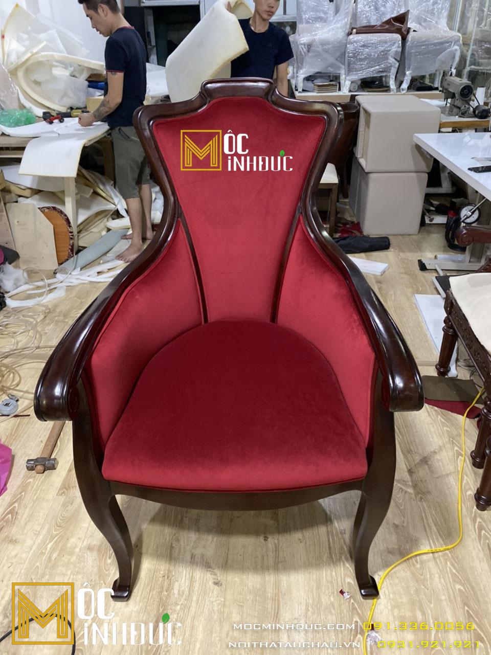 Hình ảnh hoàn thiện mẫu ghế giám đốc cao cấp