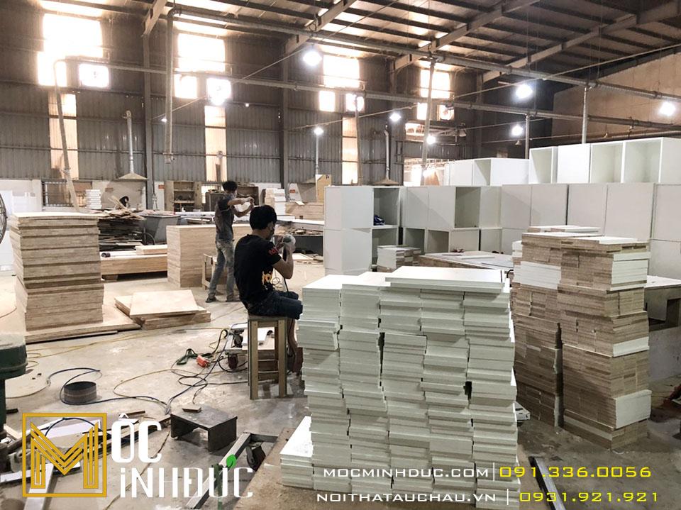 Thợ sản xuất nội thất gỗ công nghiệp