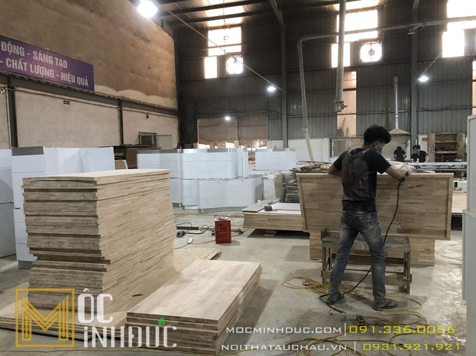 Thợ thi công nội thất gỗ công nghiệp