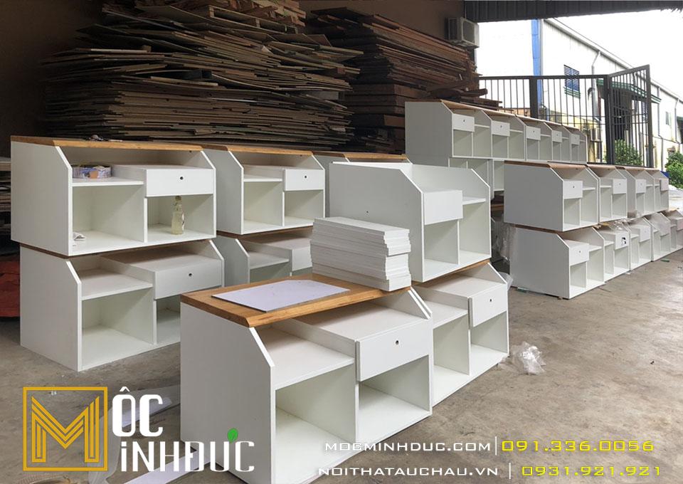 Nội thất bàn ghế văn phòng gỗ công nghiệp