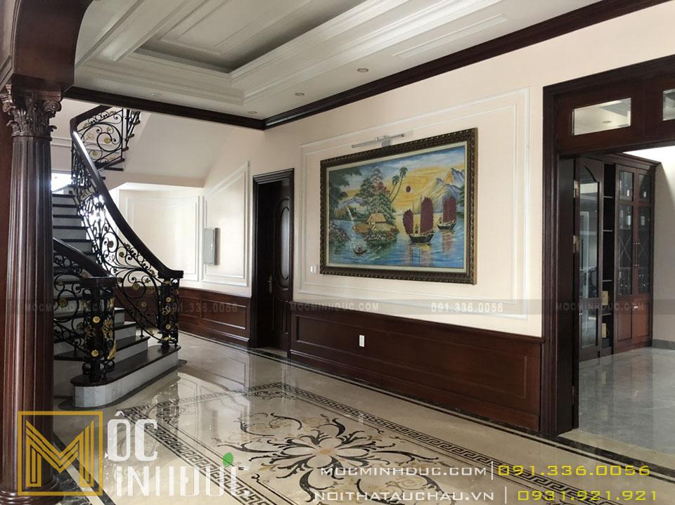 Thiết kế hành lang nhà đẹp