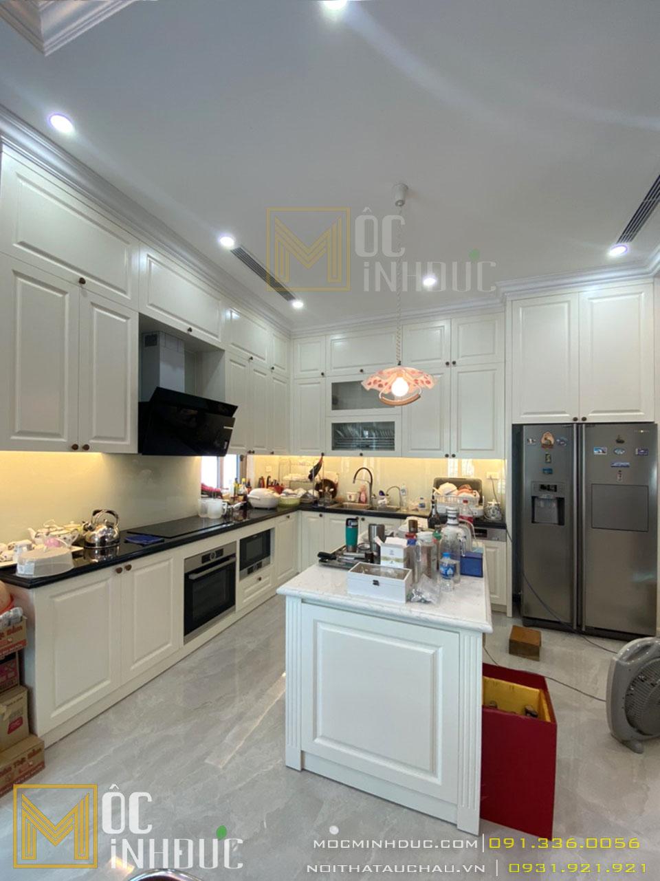Thi công thiết kế nội thất bếp