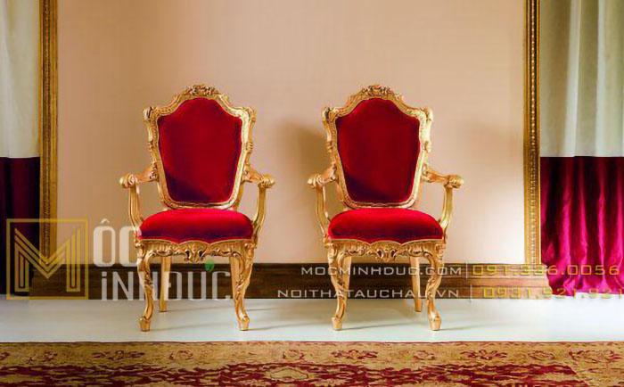 Mẫu ghế chụp ảnh quý tộc