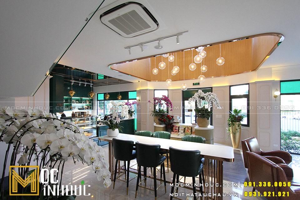 Chuyên thi công nội thất quán Cafe Hải Phòng