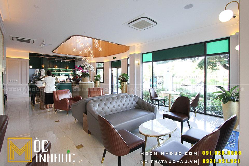 Hoàn thiện nội thất quán Cafe hải phòng