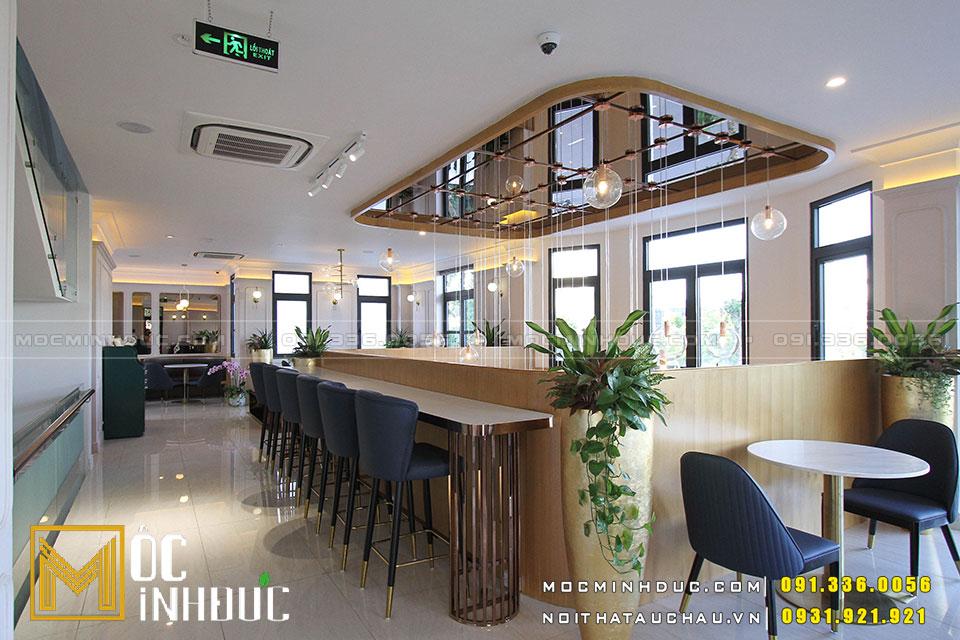 Hoàn thiện nội thất quán Cafe