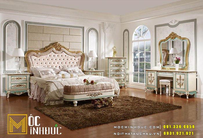Mẫu giường thanh lịch 07