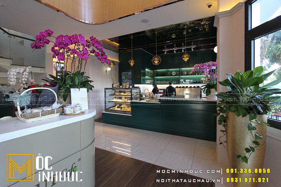 Hình ảnh quán cafe biệt thự HideOut