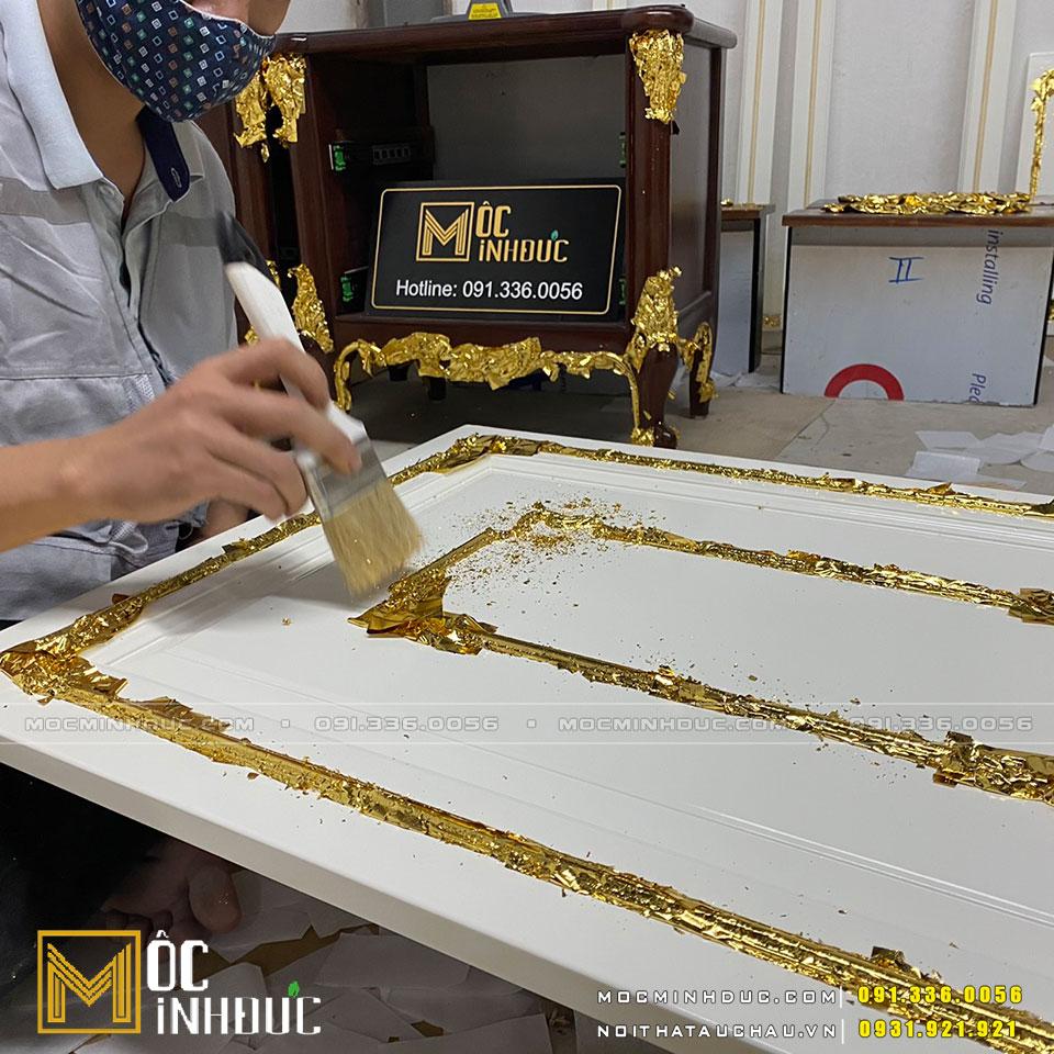 Dát vàng đồ gỗ nội thất