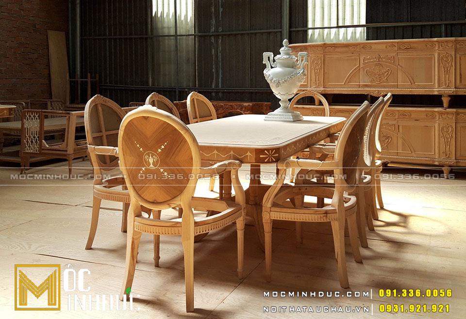 Đồ nội thất gỗ Sồi tự nhiên