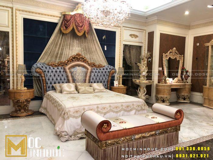 Giường tân cổ điển quý tộc