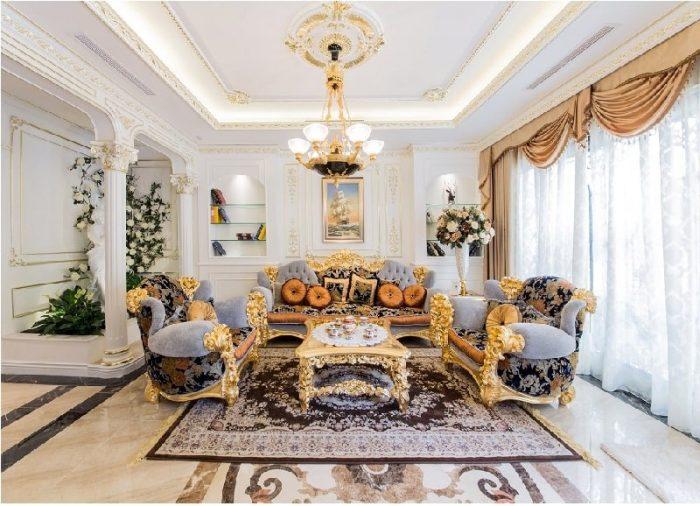 Một phòng khách đẹp là khi có một bộ bàn ghế thật đẹp và sang trọng