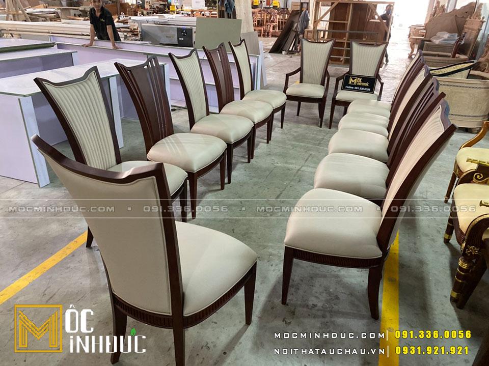 Sản xuất bàn ghế theo yêu cầu
