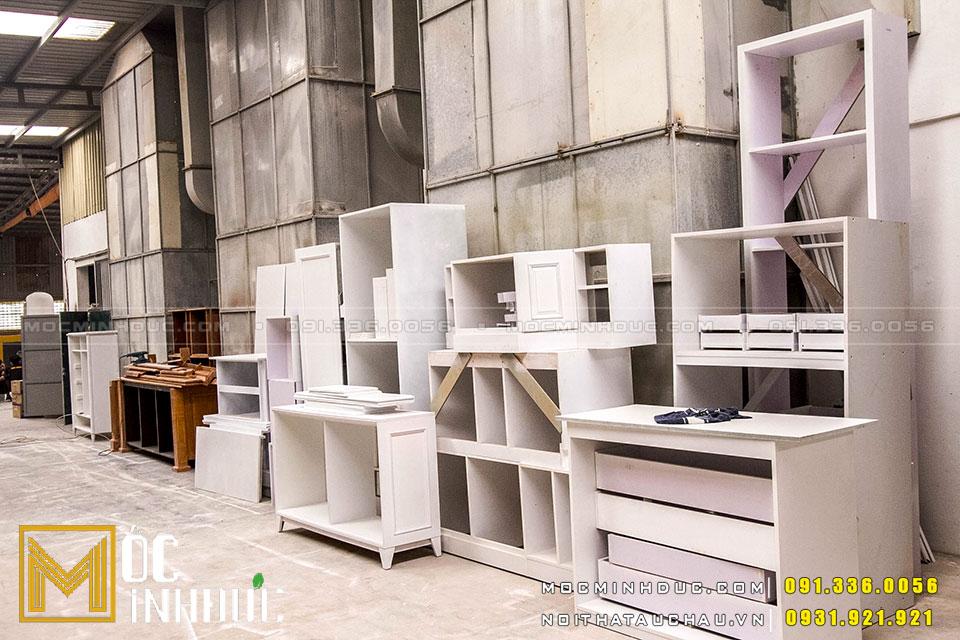 Sản xuất đồ gỗ công nghiệp