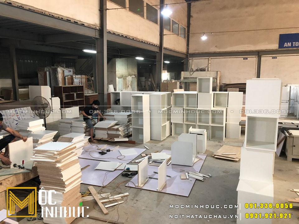 Sản xuất đồ gỗ nội thất công nghiệp