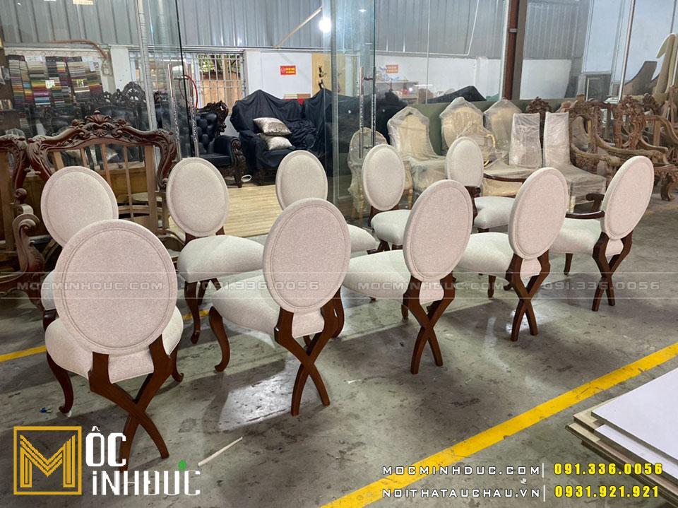 Xưởng sản xuất ghế tân cổ điển