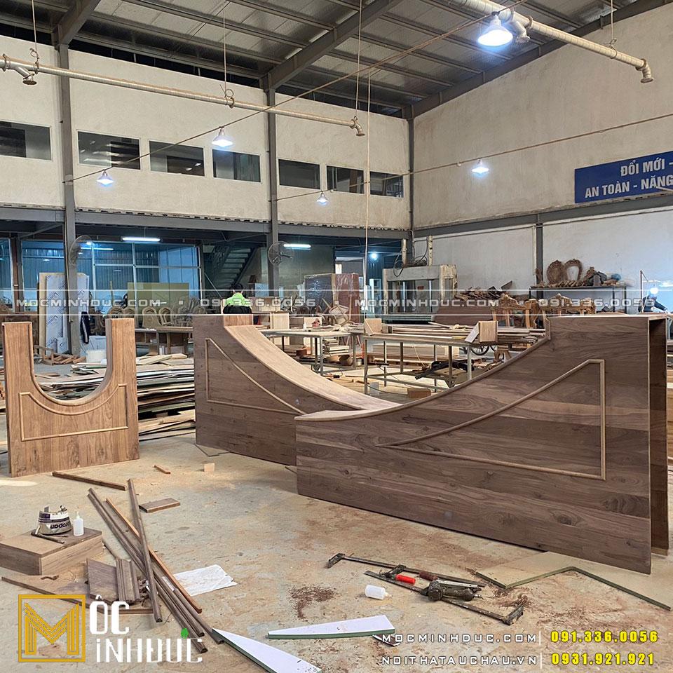 Xưởng sản xuất nội thất gỗ Óc chó